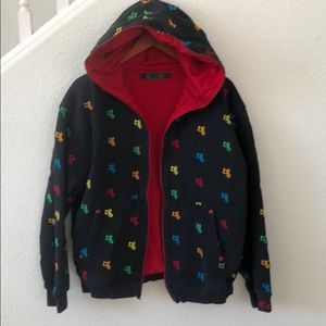 Coogi Embroidered Logo Hoodie size Large